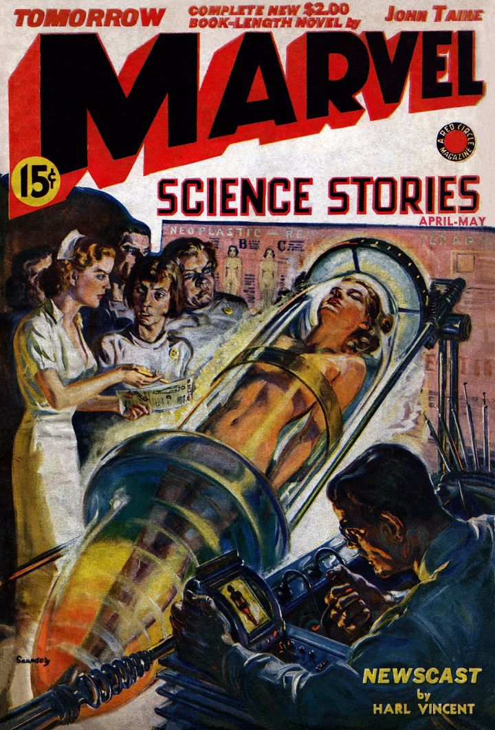 Cover from a 1939 Marvel Comic